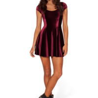 Velvet Mulled Wine Evil Cheerleader 2.0 | Black Milk Clothing