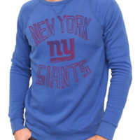 NFL New York Giants Vintage Fleece Crew - Men's Collections - NFL - New York Giants - Junk Food Clothing