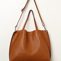 Free People Womens Slouchy Vegan Tote