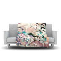 "Mat Miller ""Fluidity"" Fleece Throw Blanket 