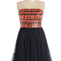 East Meets Fest Dress | Mod Retro Vintage Dresses | ModCloth.com