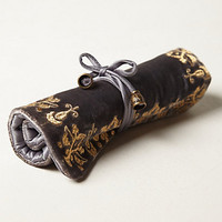 Embroidered Jewelry Roll