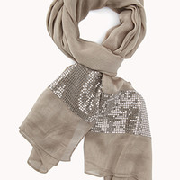 Touch Of Glam Sequined Scarf