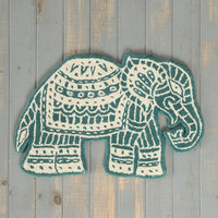 Magical Thinking Elephant Wool Rug - Urban Outfitters