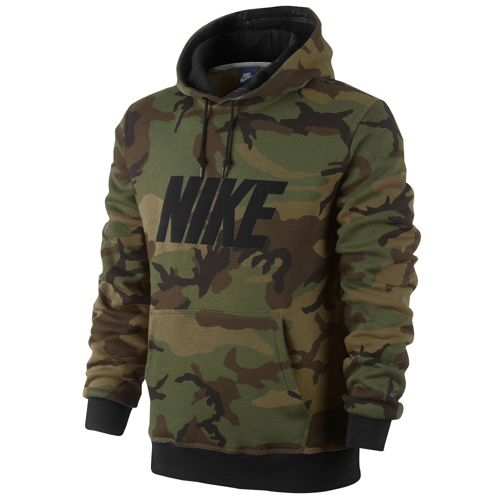nike club po hoodie woodland camo men 39 s from foot locker. Black Bedroom Furniture Sets. Home Design Ideas