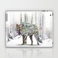 Winter Wonder Dog Laptop & iPad Skin by Ben Geiger