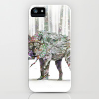 Winter Wonder Dog iPhone & iPod Case by Ben Geiger