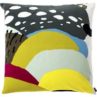 "Marimekko Kurpitsa Green 20"" Pillow in Decorative Pillows 