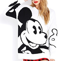 Bold Mickey Sweater