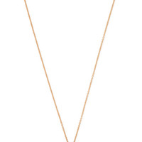 Light Sunburst White Diamond Shield Necklace by Monique Péan for Preorder on Moda Operandi