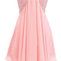 Dressystar Short Lilac Prom Evening Prom Dresses