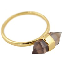 ManiaMania Gold Plate Psychic Ring