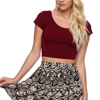 LA Hearts Short Skirt at PacSun.com