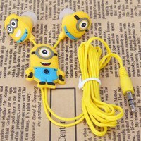 3.5mm Despicable Me 2 Minions In-Ear Headphone