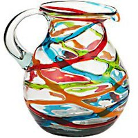 Product Details - Colorful Ribbons Pitcher