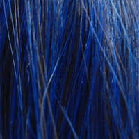BLUE BLACK // Hair Weft Track // For Extensions, Fringe, Clip ins Dolls like Blythe // Straight Long Heat Resistant Synthetic Fiber