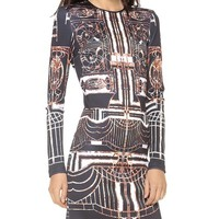 Gatsby Long Sleeve Dress