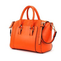 Elegant Retro Gorgeous Crocodile Emboss Handbag