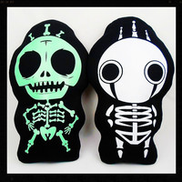 NEW Decorative Zombie and corpse Skeleton body Skull pillows