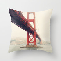 San Francisco  Throw Pillow by Bree Madden