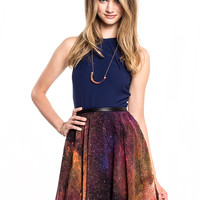 HUNTER DIXON Galaxy Betty Skirt