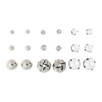 9 Pairs Earrings - from H&M