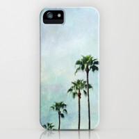 Palm trees iPhone & iPod Case by Sylvia Cook Photography