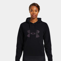 Women's Armour Fleece Storm Pulse Big Logo Hoodie