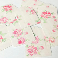 Rose Gift Tags - Set of 8