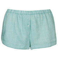 Chambray Pyjama Shorts - Nightwear  - Clothing