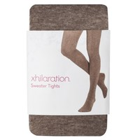 Xhilaration® Juniors Fashion Cable Tights - Assorted Colors