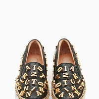 Jeffrey Campbell Alva Chained Loafer - Alpha