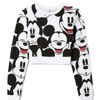 Oh Mickey Cropped Sweatshirt