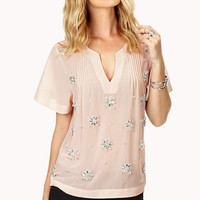Shine On Georgette Blouse