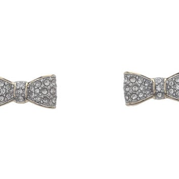 Juicy Couture Pave Bow Studs