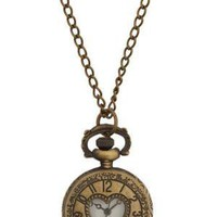 For All Time Pocket Watch Necklace | Mod Retro Vintage Watches | ModCloth.com