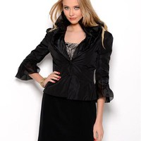 Caterina Masoni Ruffle Jacket - It Jackets - Modnique.com