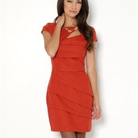 Tata Jolie Pleated Wool Dress - Women's Must Haves: Dresses - Modnique.com