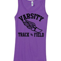 Junior's Varsity Track and Field Tank (X-Large)