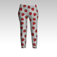 Strawberries by Ornaart (Leggings)