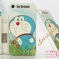 iPhone 4 Case, iPhone 4S Cover - Doraemon / Cases for iPhone 5, Cover for iPhone 5S
