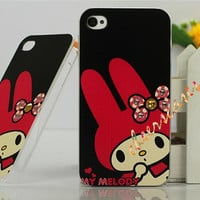iPhone 4 Case, iPhone 4S Cover - Melody / Cases for iPhone 5, Cover for iPhone 5S