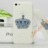iPhone 4 Case, iPhone 4S Cover - Crown / Cases for iPhone 5, Cover for iPhone 5S