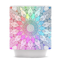 "Monika Strigel ""Rainbow Dots"" Shower Curtain 