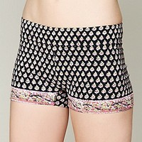 Printed Yoga Shorts