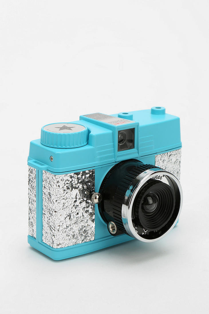 Lomography Glitter Diana Mini Camera - from Urban Outfitters