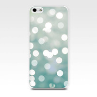 abstract iphone case bokeh iphone 4 4s 5 5s iphone case abstract photography fine art iphone case iphone 5s photo cute iphone mint green