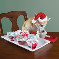 The Canine's Culinary Christmas Cupcakes