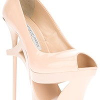 GIANMARCO LORENZI COLLECTOR platform stiletto pump