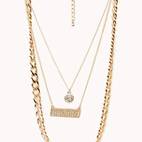 Street-Chic Love Necklace